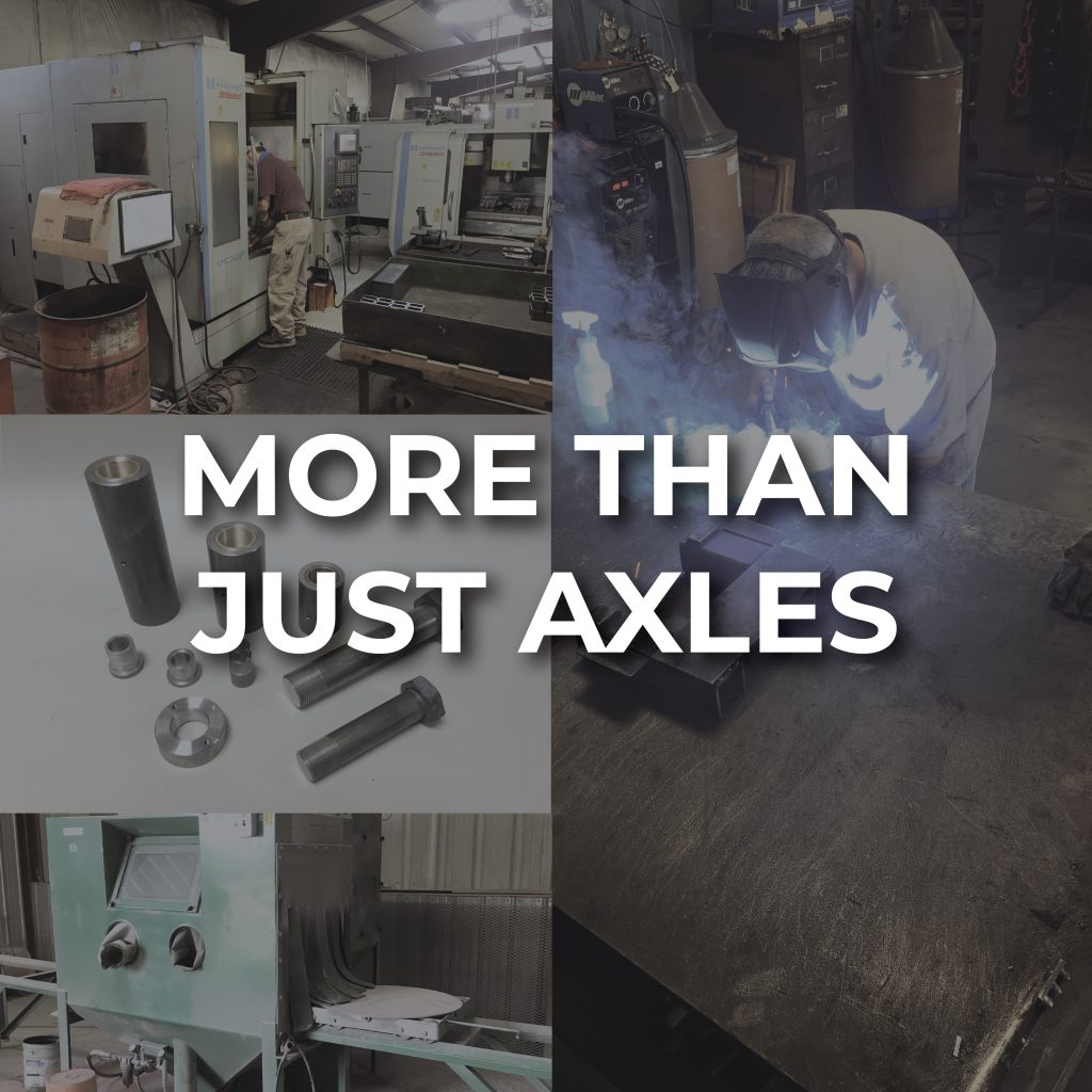 More Than Just Axles